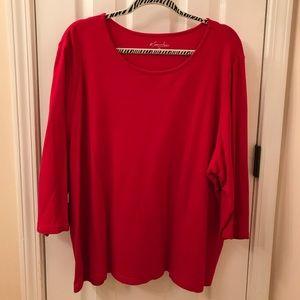 Woman's t-shirt  three quarter length sleeves